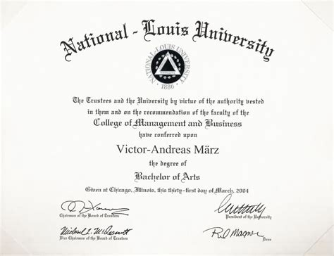 diploma of marketing document archive