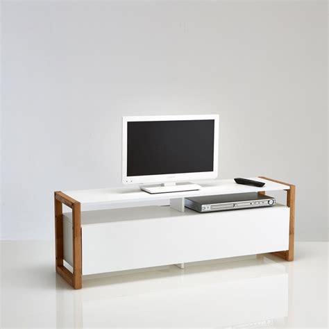 Meuble Tv Porte Abattante, Compo Blanc La Redoute