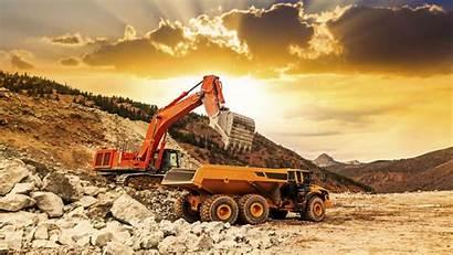 Mining Construction Equipment Resources Mine Syama Heavy