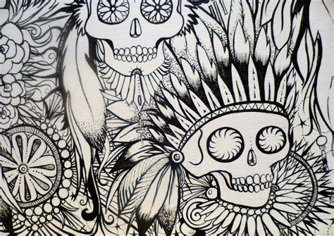Tribal Skull Tattoo Design Tattoos Body Art