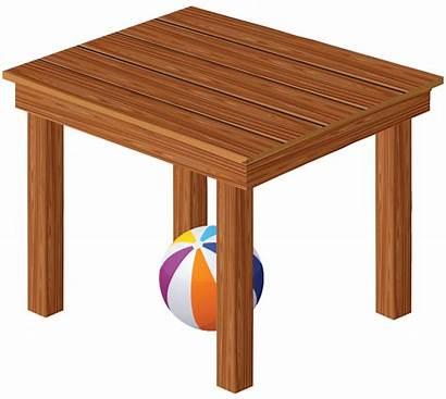 Ball Under Table Clipart English Enjoying