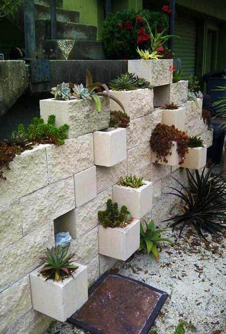 concrete block ideas    enjoy cheap diy outdoor