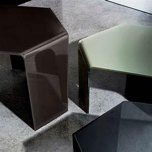 Table Basse En Verre Design Italien : table basse design en verre 3 feet sovet 4 pieds tables chaises et tabourets ~ Melissatoandfro.com Idées de Décoration
