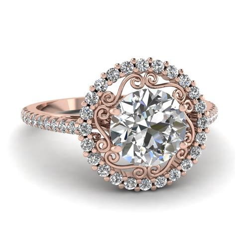 micropave halo ring fascinating diamonds