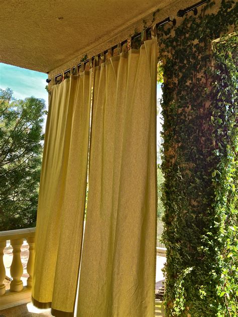 outdoor privacy curtains furniture ideas deltaangelgroup