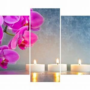 sticker lorchidee avec les bougies stickers nature With chambre bébé design avec bougie musicale fleur