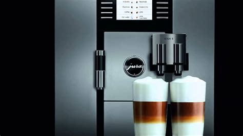 Jura Giga 5 Automatic Coffee Center   WORLDS BEST COFFEE MAKER FOR THE TRUE CONNOISSEUR   YouTube