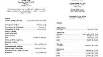 wedding program fan template 17 wedding ceremony program templates photo diy