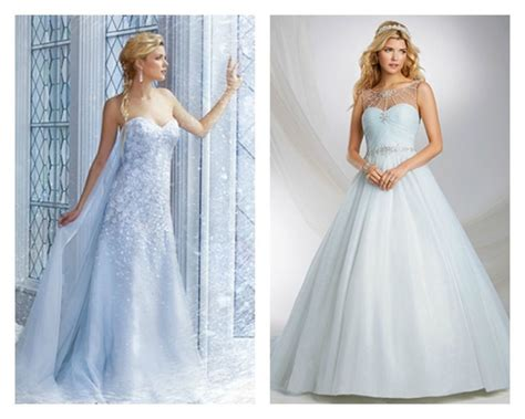 Blue Wedding Dresses, Wedding Gowns