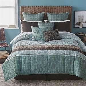 buy bryan keith wildwood 9 piece california king comforter set in teal from bed bath beyond