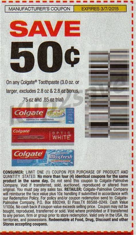 14932 Printable Coupons Crest Toothpaste by Colgate Toothpaste Coupons Printable 2018 September 2018