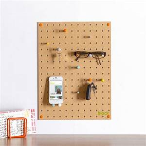 Pegboard, With, Wooden, Pegs, Small, By, Block