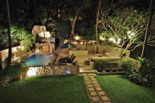 Patio Bar Design Ideas tropical garden with swimming pool and patio tropical