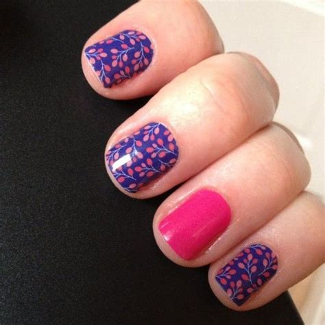 budding cobalt nail wraps  jamberry nails  handy