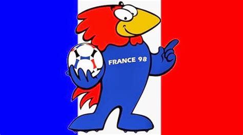 chimie et cuisine les mascottes des différentes coupes du monde de football picadilist