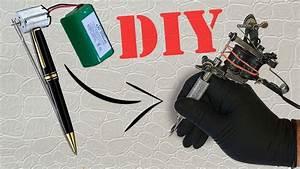 How To Make A Mini Tattoo Gun    Tattoo Machine