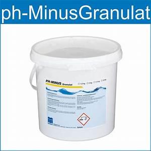 Pool Ph Wert Senken : ph minus granulat ist ideal zum senken des ph wert im schwimmbadwasser wasserpflegeprodukte ~ Orissabook.com Haus und Dekorationen