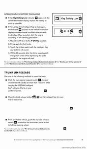 Nissan Altima 2013 L33    5 G Quick Reference Guide  28 Pages