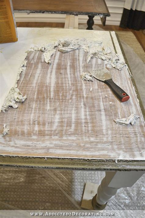 how to refinish a table top without stripping how to strip paint stain polyurethane from furniture