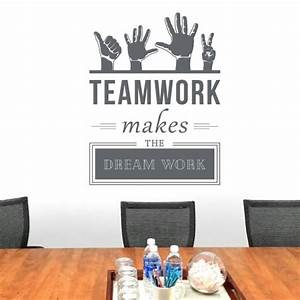 Wall Designer Teamwork Makes The Dreamwork - Company