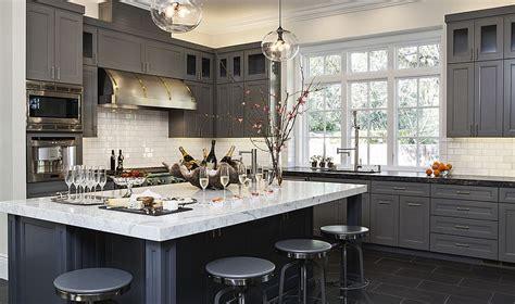 dark grey kitchen cabinets 50 gorgeous gray kitchens that usher in trendy refinement