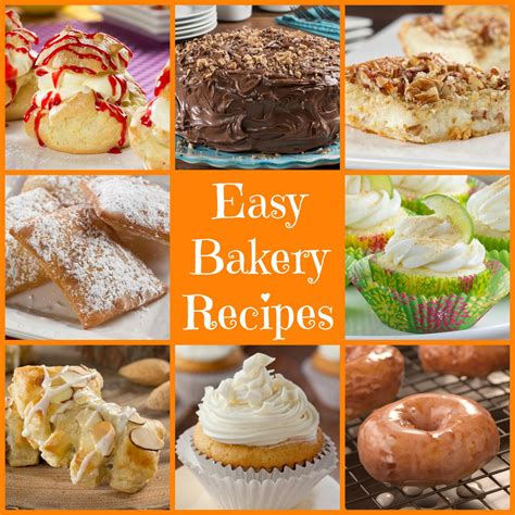 easy bakery recipes mrfood com