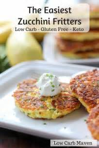 easiest zucchini fritters  carb keto thm