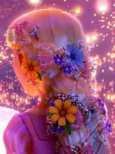 rapunzel flower braid | Tumblr
