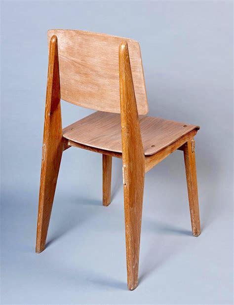 chaise jean prouv quot chaise en bois quot by jean prouvé at 1stdibs