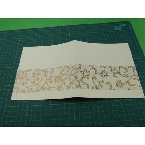 bastelideen goldene hochzeit einladungskarte goldene hochzeit selber basteln mit sch 246 nen bastelpapieren in gold