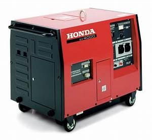 Groupe Electrogene Silencieux Honda : groupe electrogene honda ex4000s 230v 4000 va 50 hz ~ Dailycaller-alerts.com Idées de Décoration