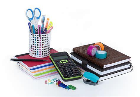 consomag fournitures bureau fournitures de bureau d 39 école et image stock image du