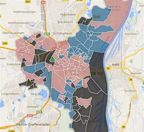 bureau de vote strasbourg européennes les résultats à strasbourg par bureau de vote