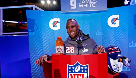 Why Wisconsins James White Could Be The Patriots Super