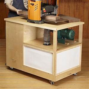 Dust-collecting Tool Stand Woodworking Plan from WOOD Magazine