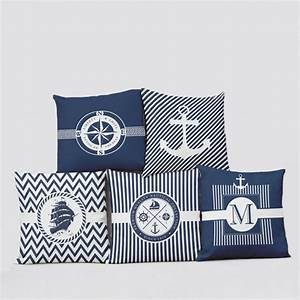 Themed Nautical Pillows – SAVARY Homes