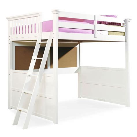 bedroom exciting full size loft bed  desk