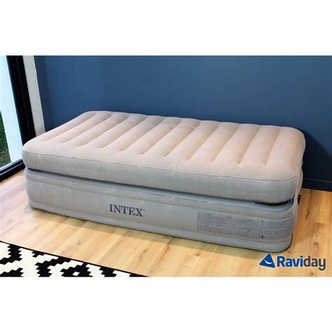 Letto Gonfiabile Opinioni by Letto Gonfiabile Intex Prime Comfort 1 Persona Raviday