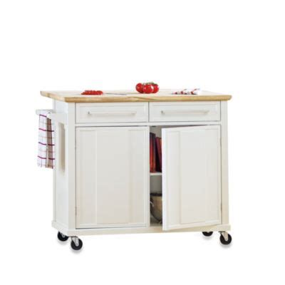 simple kitchen island buy simple kitchen island in white from bed bath