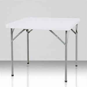 Table Carrée 12 Personnes : table pliante carr e 2 4 personnes ~ Teatrodelosmanantiales.com Idées de Décoration