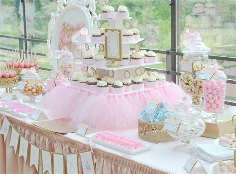 pink  gold dessert table cw distinctive designs