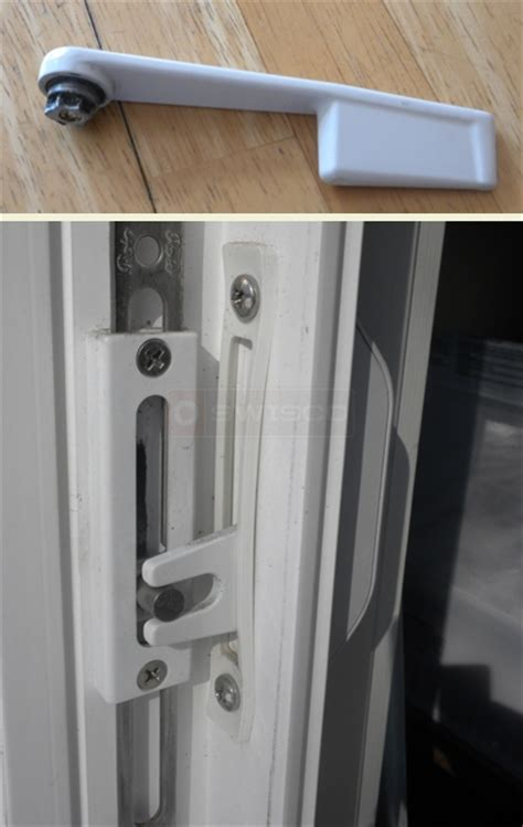 window locks broken  submitted picture  casement window crank locking handle