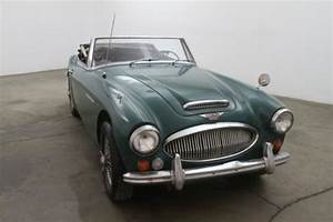67 Austin-healey 3000 Bj8 Mkiii Manual Overdrive Wire Wheels Tonneau Cover For Sale