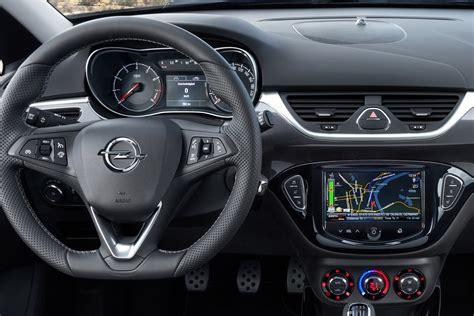 opel corsa opc expose interior carscoops