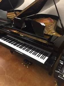 "Strait Music - 1968 Yamaha C7 7'6"" Grand Piano - Polished ..."
