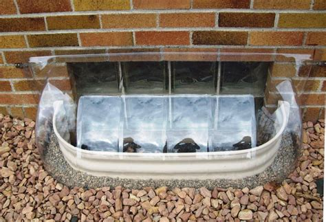 43 X 14 Bubble Window Well Cover 2 Heights Available