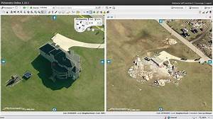 Before and after tornado #Pictometry image of house in ...
