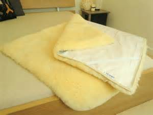 100 genuine rectangular sheepskin bed pad mat underlay mattress ebay