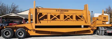 ez crusher model   portable mobile car crusher alan