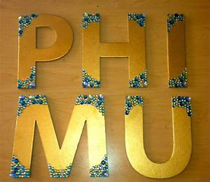 1000 ideas about paint wooden letters on pinterest wood With phi mu wooden letters